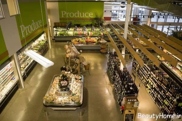 روش هایی برای طراحی دکوراسیون فروشگاه های مواد غذایی