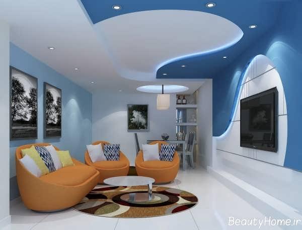 طرح شیک و کاربردی سقف کاذب