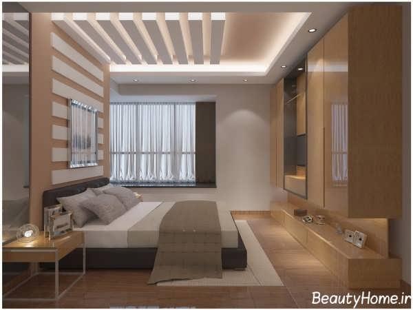 جدیدترین طرح های سقف کاذب برای اتاق خواب