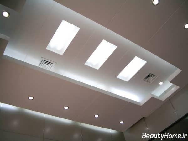 طرح زیبا و جذاب سقف کاذب