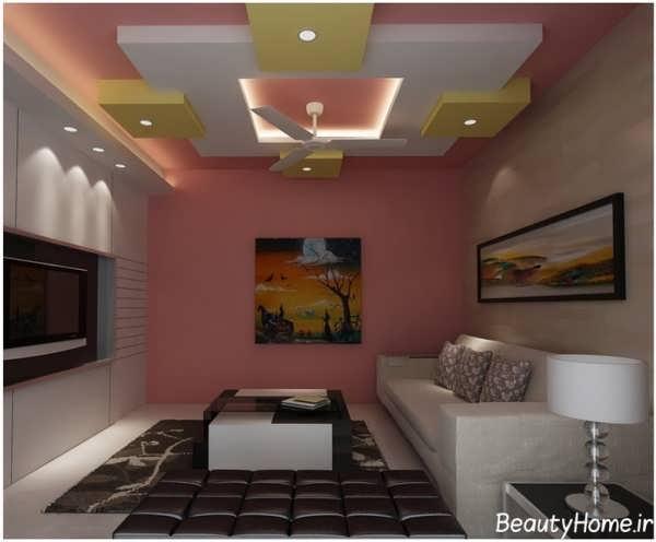 سقف کاذب برای اتاق نشیمن