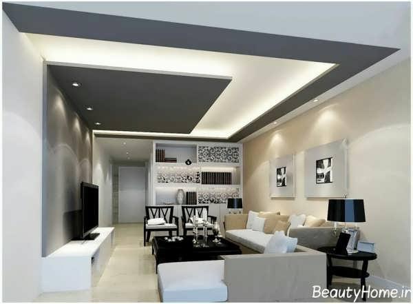 سقف کاذب با طراحی مدرن و جدید