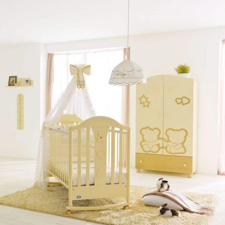 مدل تخت و کمد نوزاد با طرح های فانتزی و جدید