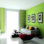 دکوراسیون سبز با طراحی داخلی شیک و کاربردی