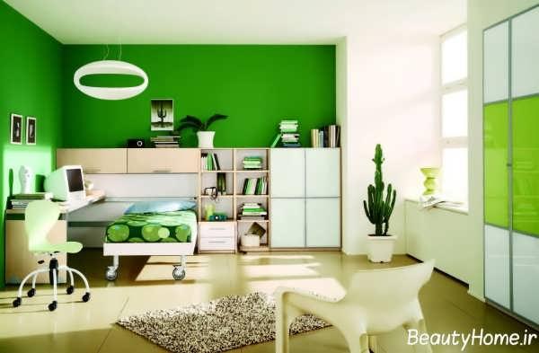طراحی دکوراسیون داخلی سبز