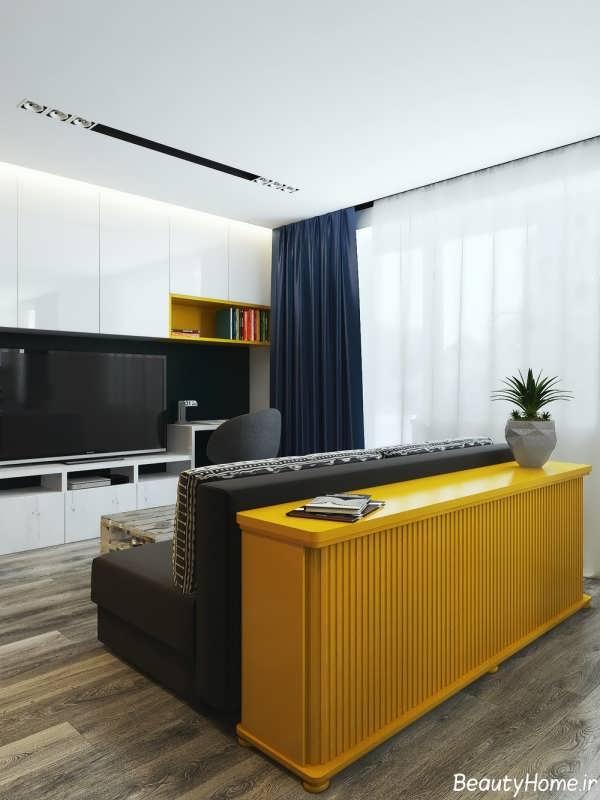 طراحی زیبا و کاربردی دکوراسیون خانه بسیار کوچک