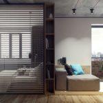 دکوراسیون خانه بسیار کوچک با طراحی مدرن و شیک اروپایی