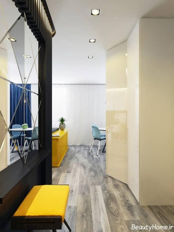 طراحی دکوراسیون شیک و زیبا خانه کوچک