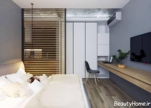 دکوراسیون اتاق خواب کوچک و زیبا