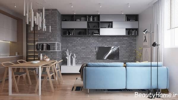 دکوراسیون داخلی اتاق نشیمن برای خانه های زیبا