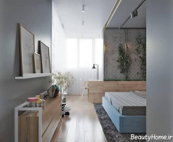 طراحی دکوراسیون داخلی اتاق خواب مدرن