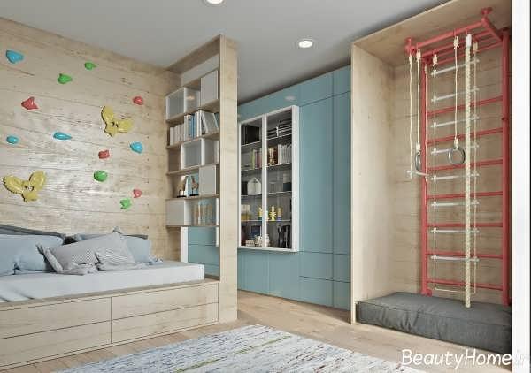طراحی زیبا و شیک اتاق خواب کودک