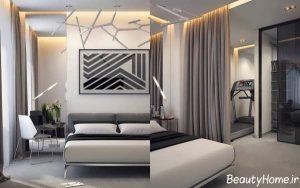 طراحی شیک اتاق خواب دو نفره