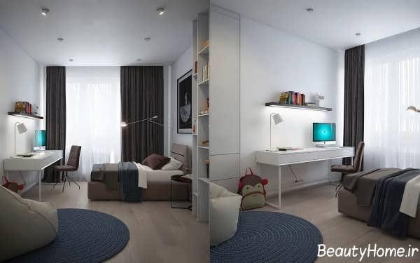 طراحی زیبا و کاربردی اتاق خواب