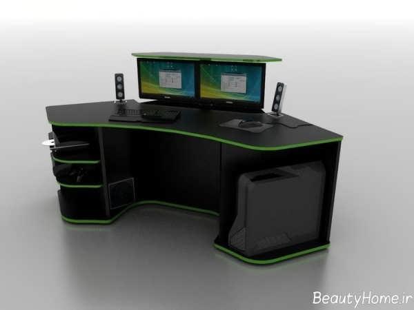 مدل میز کامیپوتر مدرن