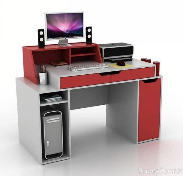 میز کامپیوتر مدرن و زیبا