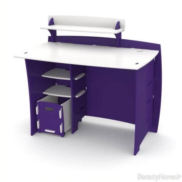 مدل های زیبا و شیک میز کامپیوتر با طراحی جدید