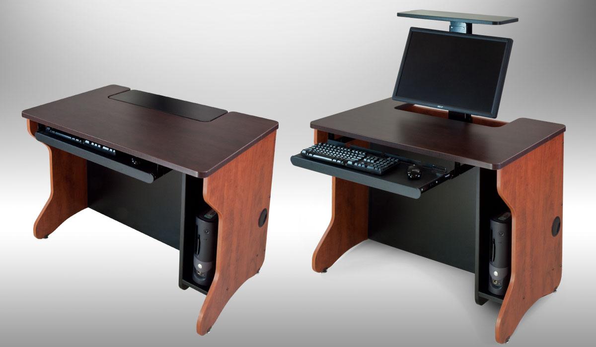 مدل میز کامپیوتر با طراحی شیک و مدرن