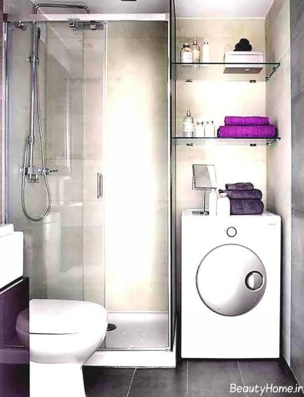 طراحی شیک و متفاوت حمام های کوچک