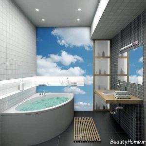 طراحی شیک و زیبا حمام های کوچک