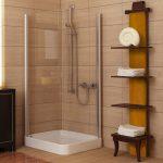 دکوراسیون حمام کوچک با طراحی زیبا و کاربردی
