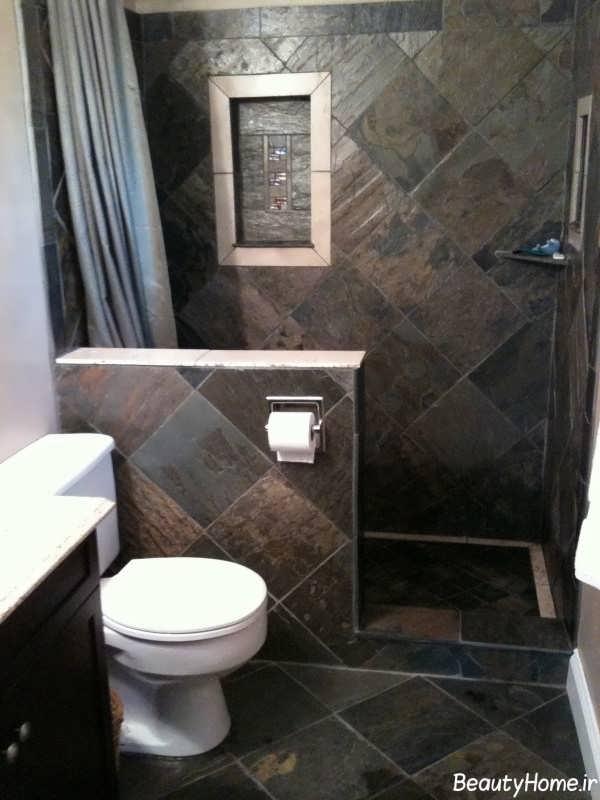 طراحی دکوراسیون داخلی حمام کوچک