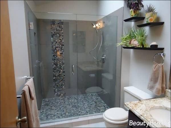 دکوراسیون حمام کوچک با طراحی کاربردی و متفاوت