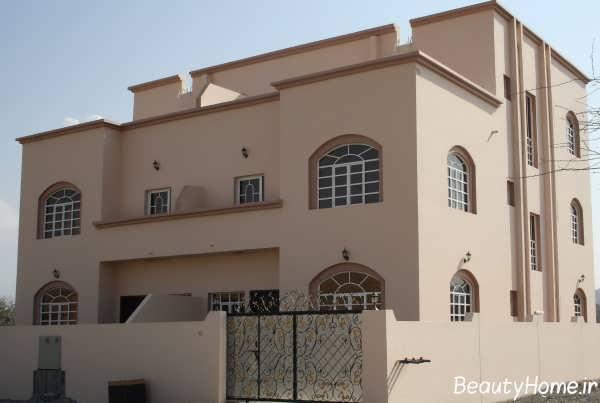 طراحی نمای زیبا و شیک ساختمان