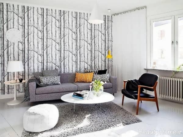 کاغذ دیواری برای خانه های زیبا و شیک