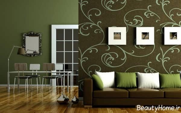 انواع طرح های زیبا و متفاوت کاغذ دیواری