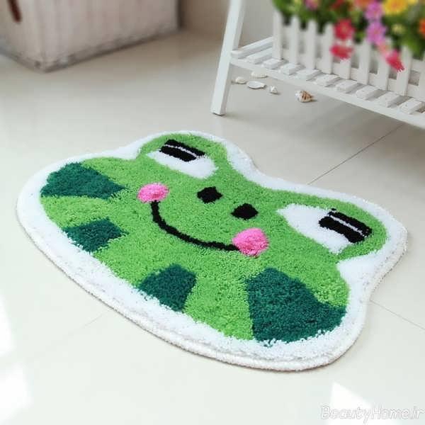 انواع طرح های فرش اتاق کودک