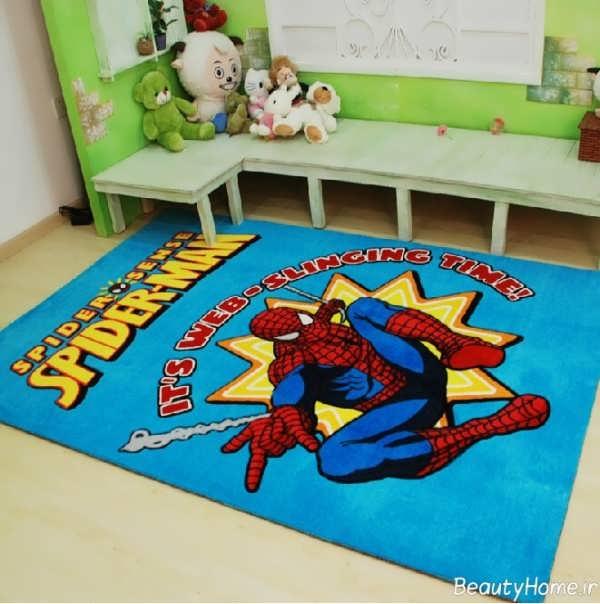مدل فرش اتاق کودک با طراحی شیک و زیبا
