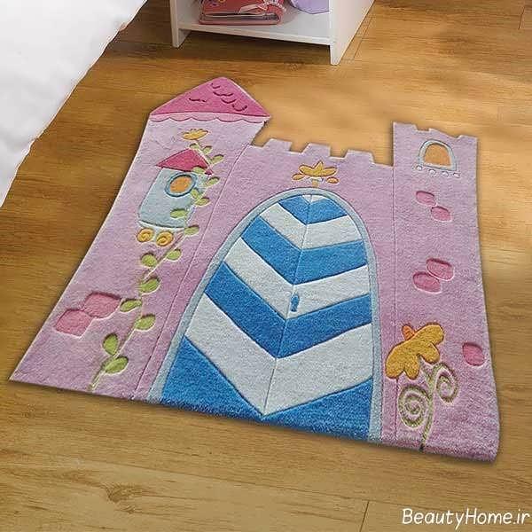 فرش اتاق کودک با طرح های فانتزی