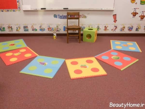 انواع مدل های جذاب و زیبا فرش اتاق کودک