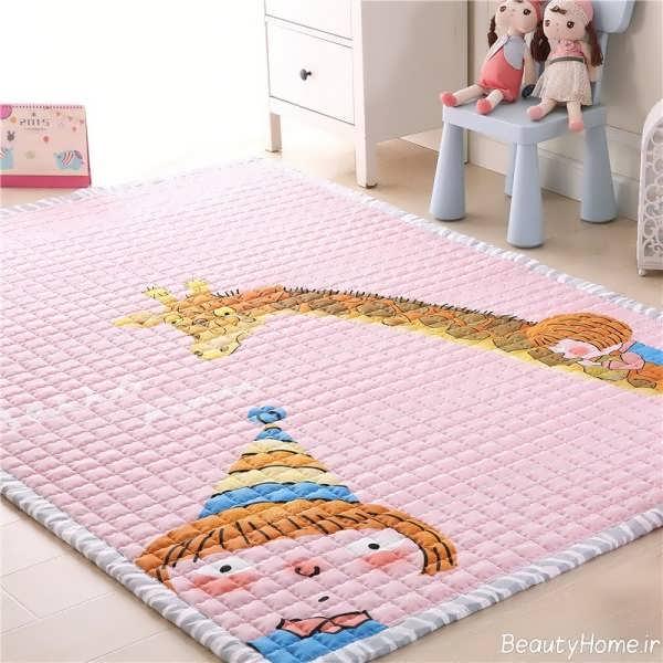 جدیدترین مدل های فرش اتاق کودک