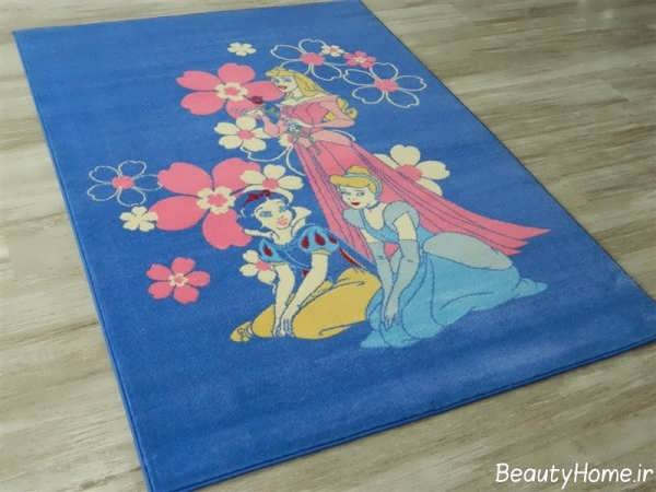 مدل های فرش اتاق کودک با طرح های زیبا و متنوع