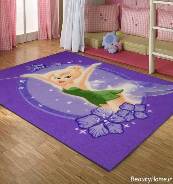 انواع مدل های زیبا فرش اتاق کودک
