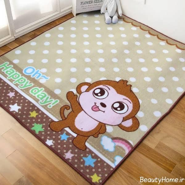 فرش اتاق کودک با طرح های شیک و متنوع