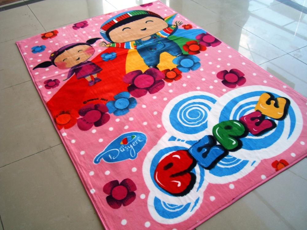 مدل فرش اتاق کودک دختر و پسر