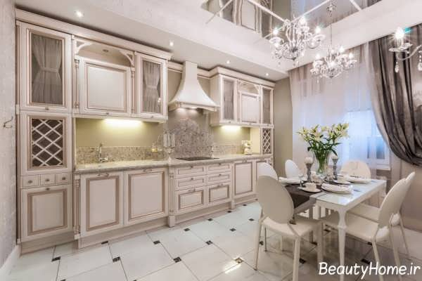 جدیدترین مدل های کابینت آشپزخانه رومی