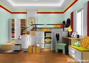 دکوراسیون اتاق کودک پسر و دختر