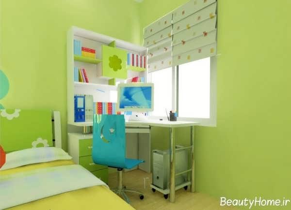 دکوراسیون اتاق بچه با دیزاین کاربردی و متفاوت