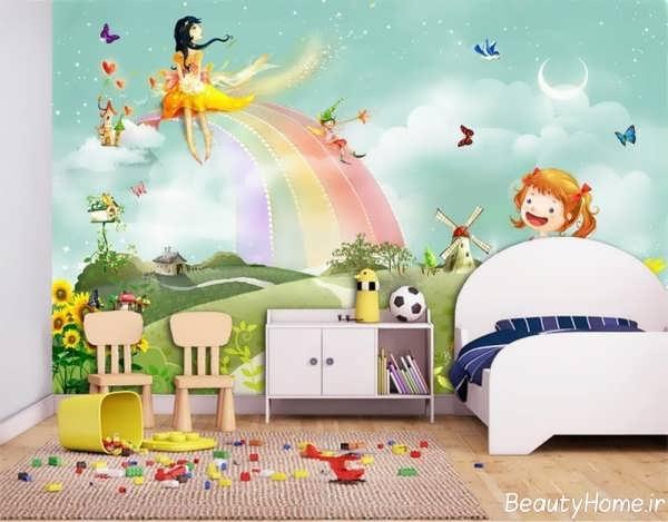 دکوراسیون داخلی اتاق بچه با طراحی شیک