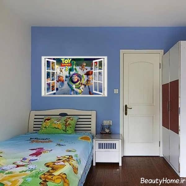 طراحی دکوراسیون داخلی اتاق بچه