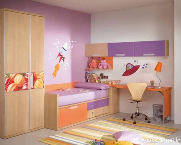 طراحی دکوراسیون اتاق کودک دختر