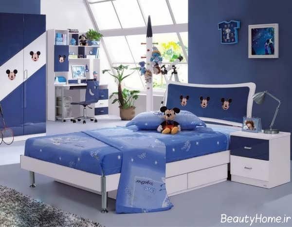 دکوراسیون اتاق بچه با انواع طراحی دخترانه و پسرانه