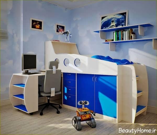 دکوراسیون اتاق بچه پسر با طراحی شیک