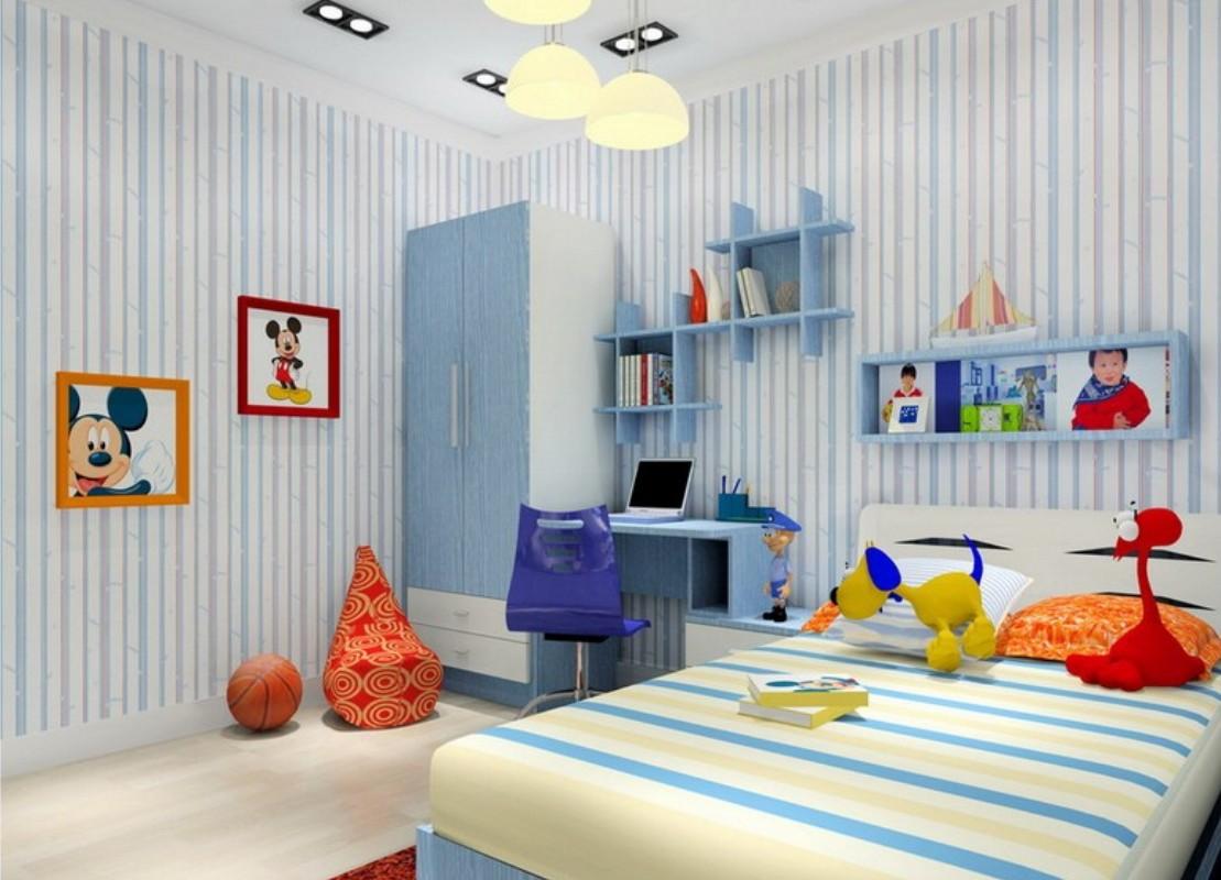 دکوراسیون اتاق بچه با طراحی دخترانه و پسرانه