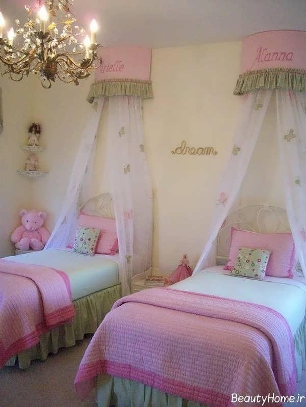 تزیین زیبا اتاق خواب دخترانه