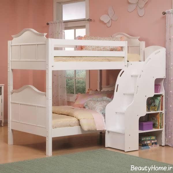 طراحی دکوراسیون جذاب اتاق خواب دخترانه